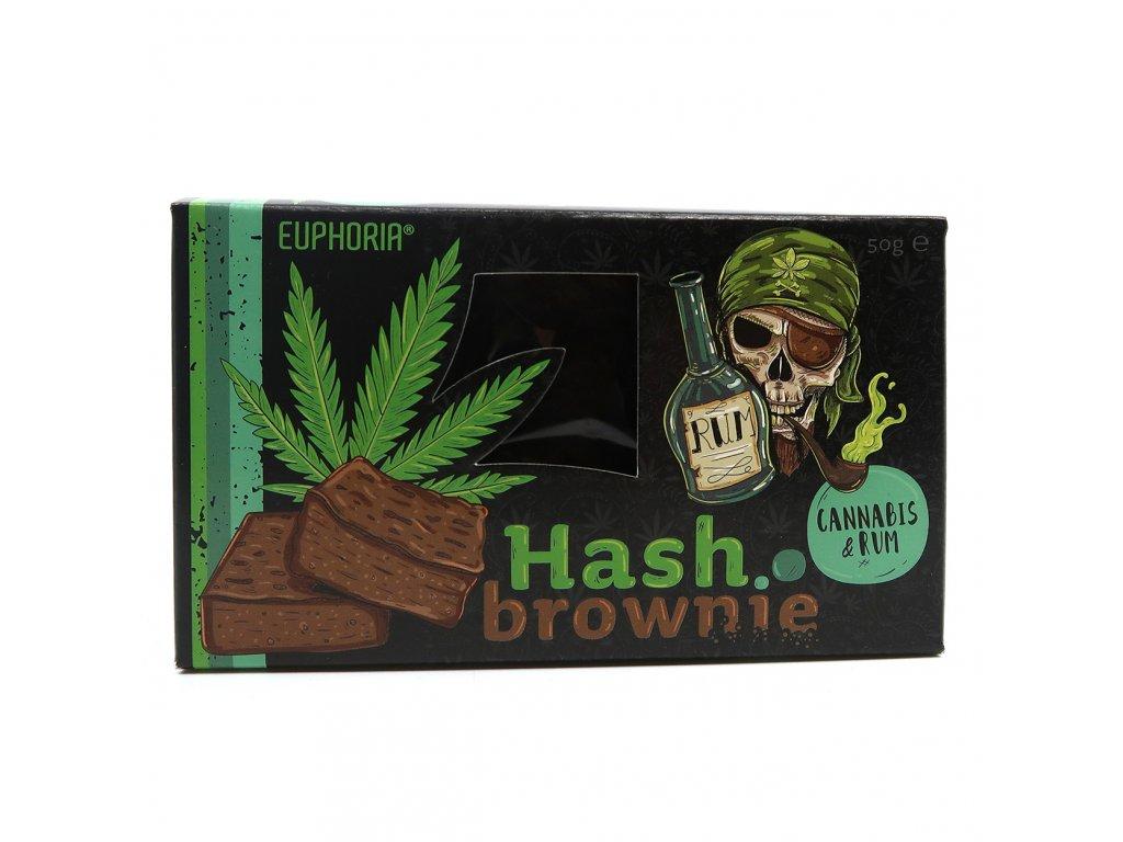 Euphoria Hash Brownie Cannabis Rum 50g EU