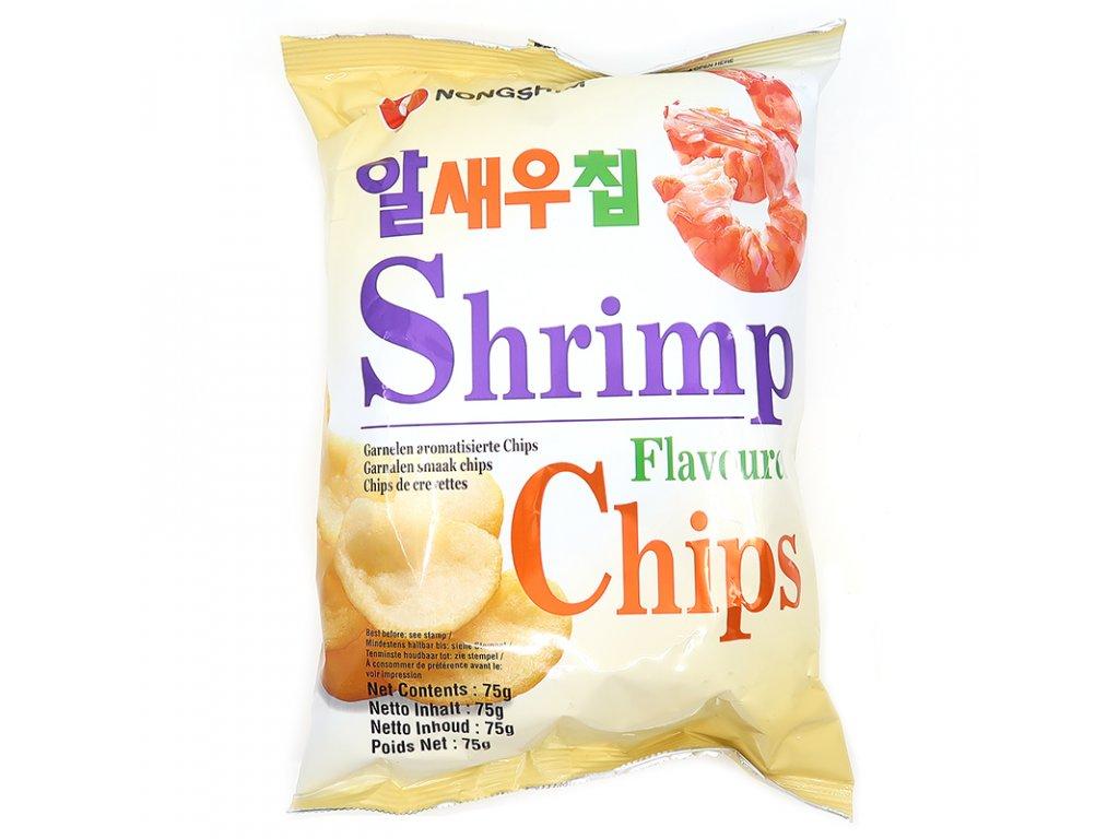 71 krevetove chipsy kulate