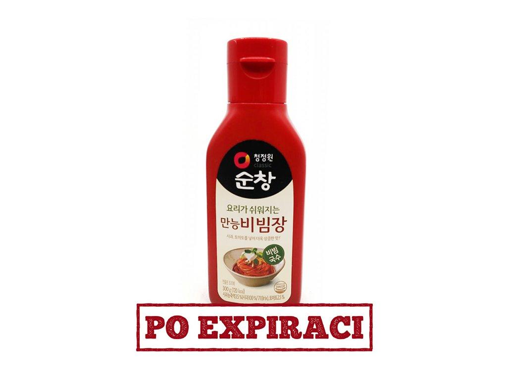 Red Pepper Sauce na Studené Jídlo 300g KOR