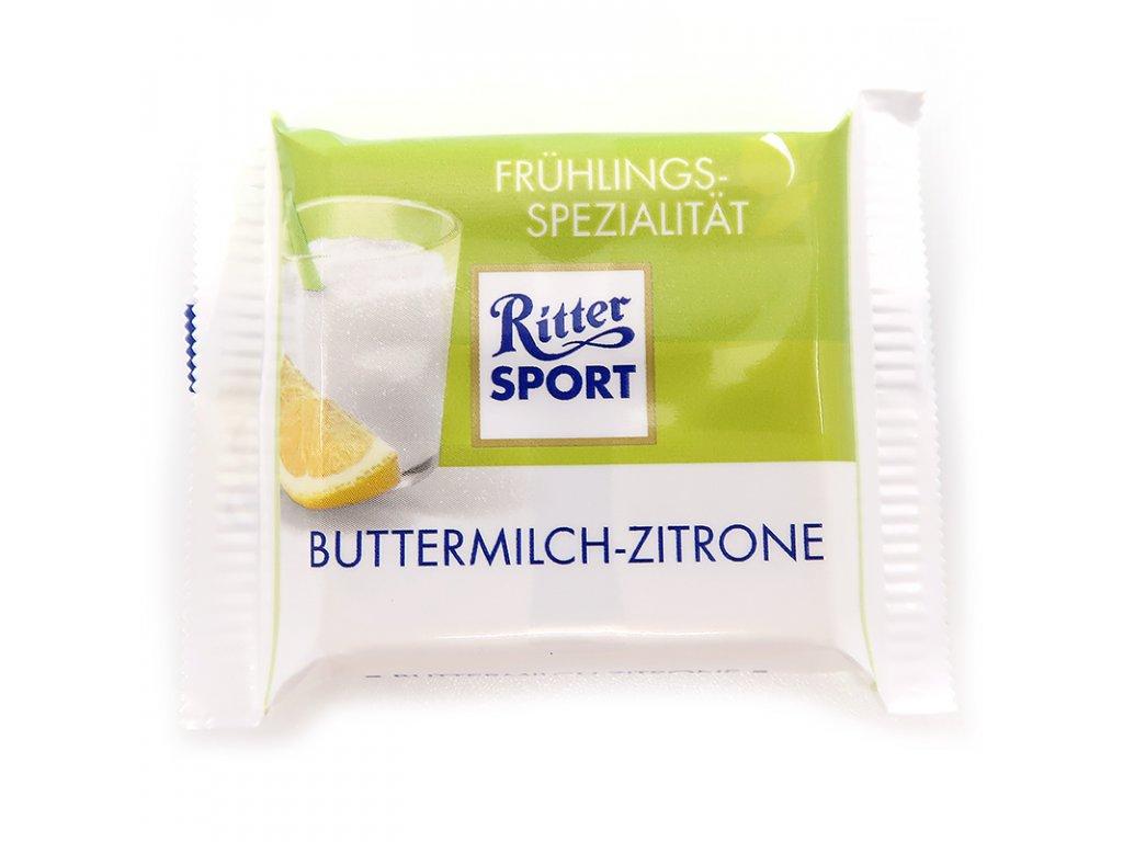 Ritter Sport mini čokoláda citŕón mléko,17g - PEPIS.SHOP