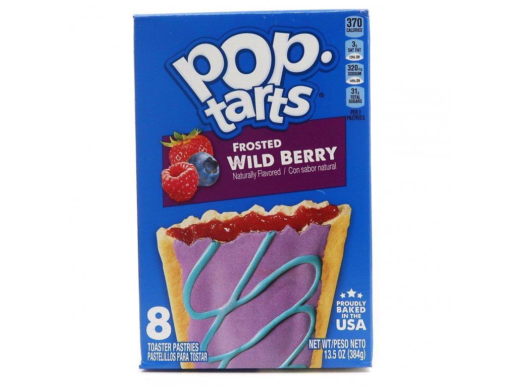 Pop Tarts Frosted Wild Berry Balení 384g USA