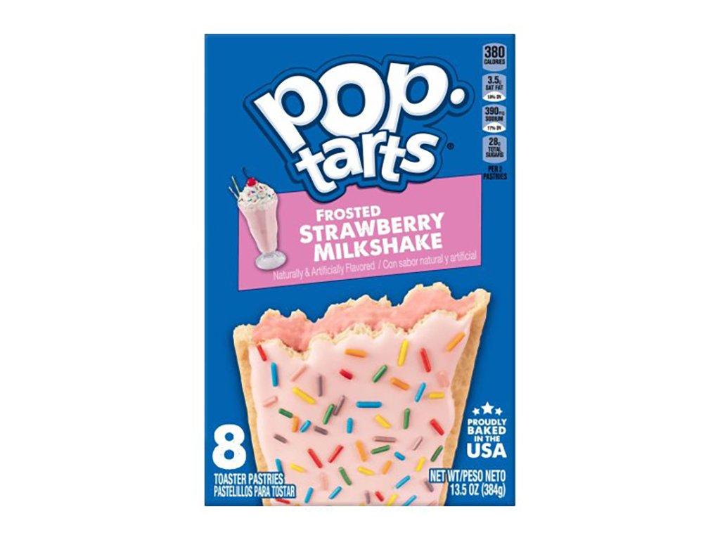 Pop Tarts Frosted Strawberry Milkshake Balení 384g USA