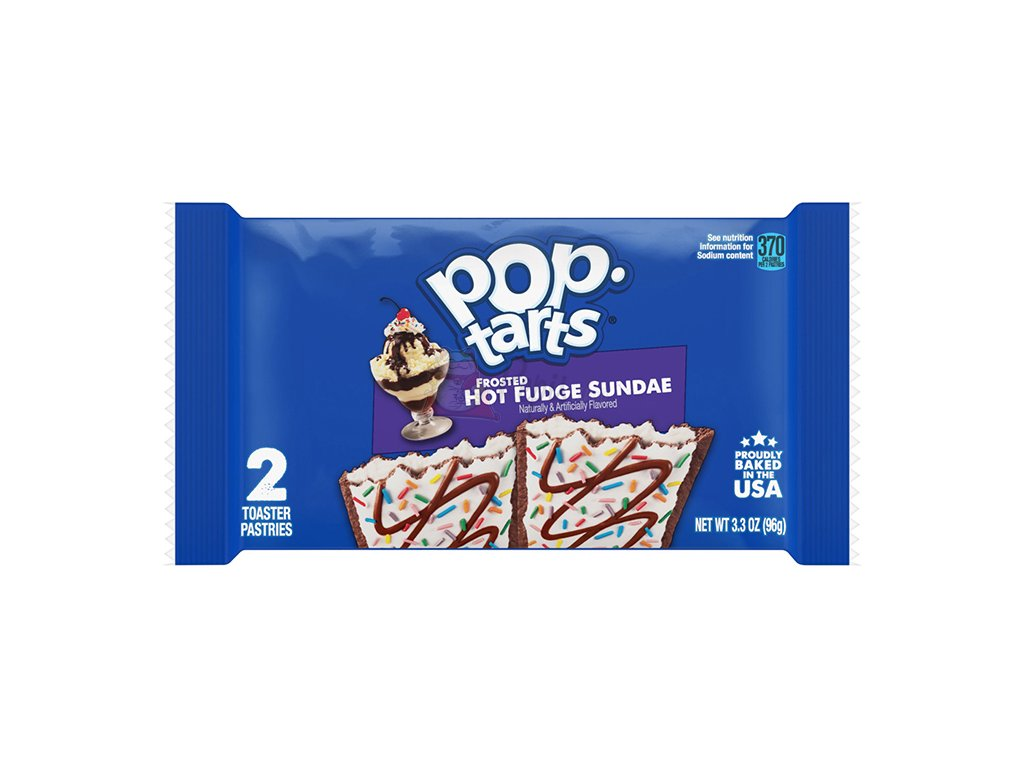 Pop Tarts Frosted Hot Fudge Sandae 2x48g USA