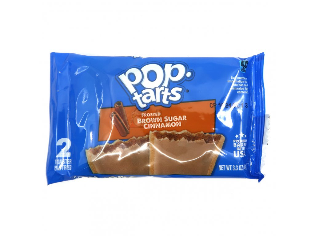 Pop Tarts Frosted Brown Sugar Cinnamon 2x48g USA