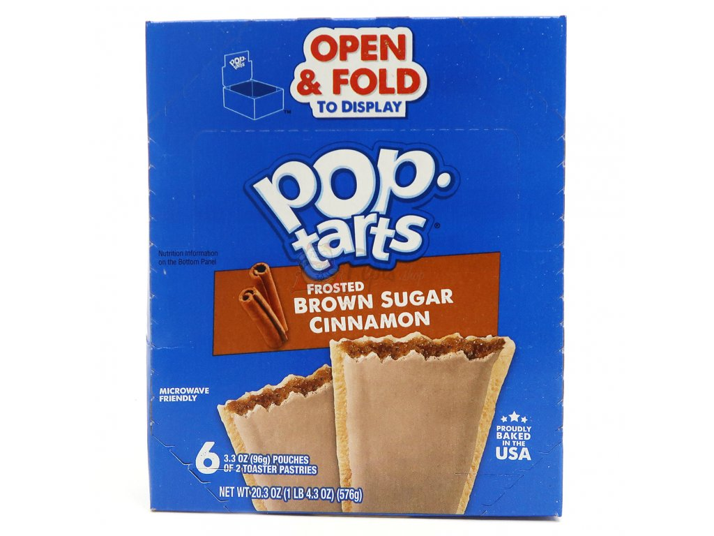 Pop Tarts Frosted Brown Sugar Cinnamon Maxi Balení 576g USA