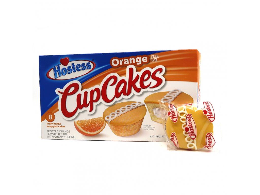 Hostess Cup Cakes Orange 1ks 48g USA