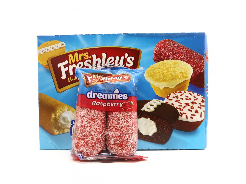 Mrs. Freshley's Dreamies Raspberry Balení 904g USA