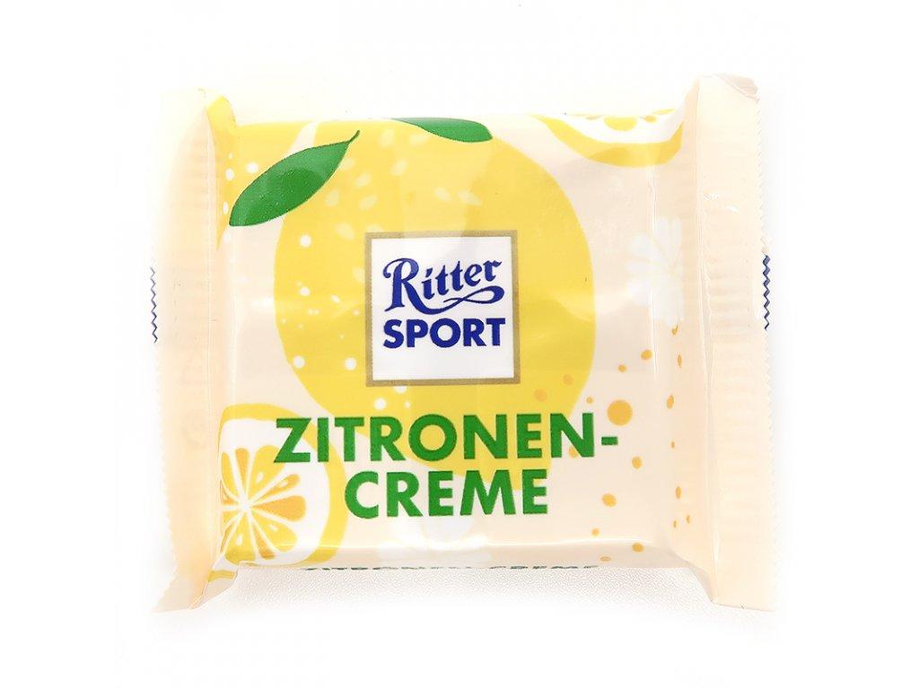 Ritter Sport mini čokoláda citrónový krém, 17g - PEPIS.SHOP