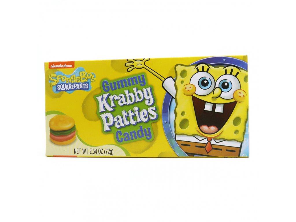 Nickelodeon Spongebob Squarepants Gummy Krabby Patties Candy 72g USA