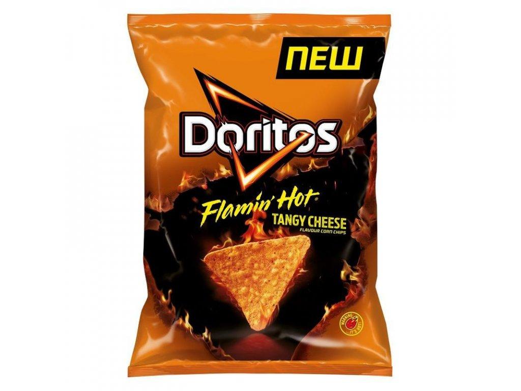 Doritos Flamin Hot Tangy Cheese 150g z1