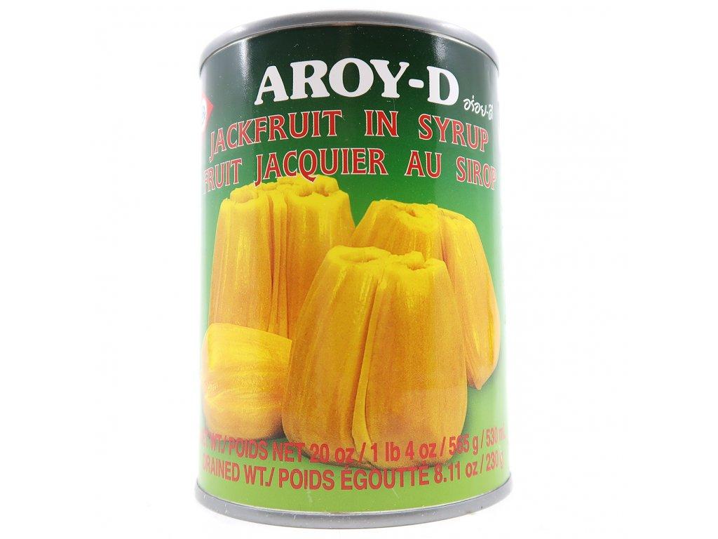 AROY-D Jackfruit Chlebovník Kompot v Syrupu 565g THA