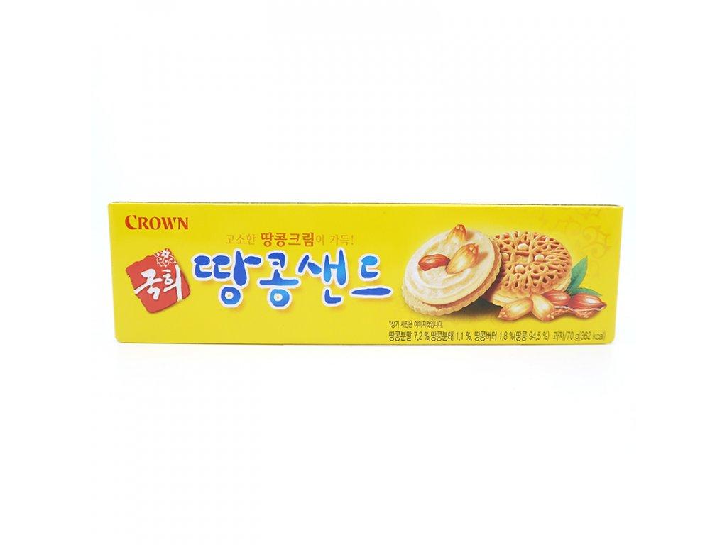 Dvojité sušenky s arašídovou náplní - PEPIS.SHOP