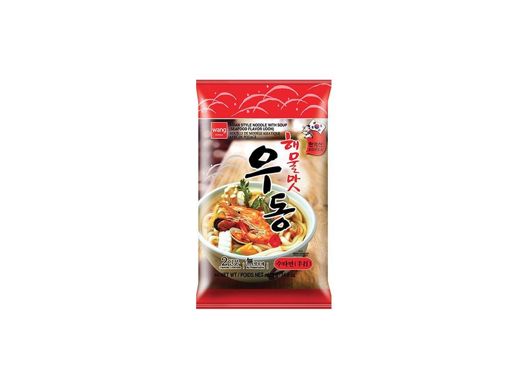 Wang Korea Udon Haemulmat Instantní Nudle 424g KOR