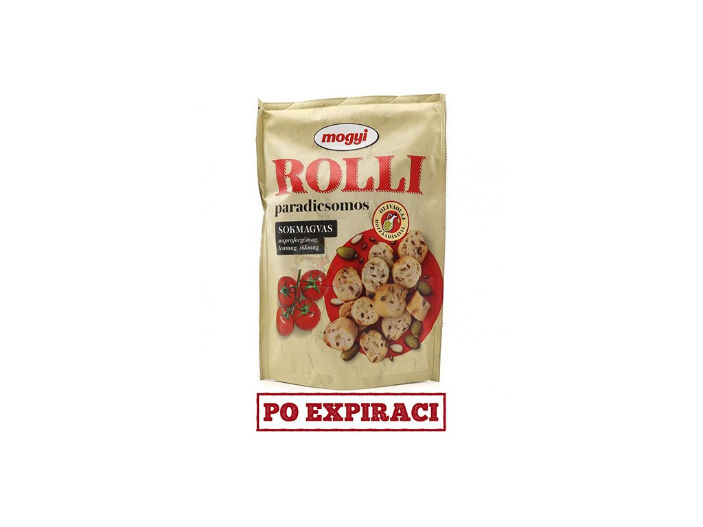 Mogyi Roll Krekry s Rajčatovou Příchutí 90g HU