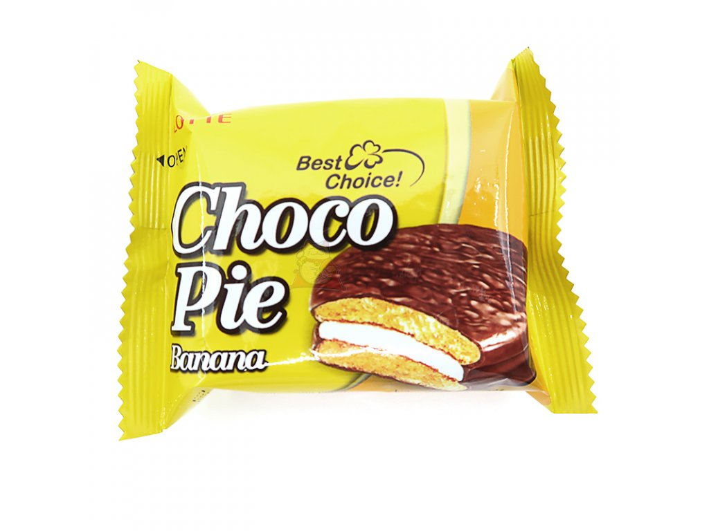 Choco pie banán 1ks, 28g - PEPIS.SHOP