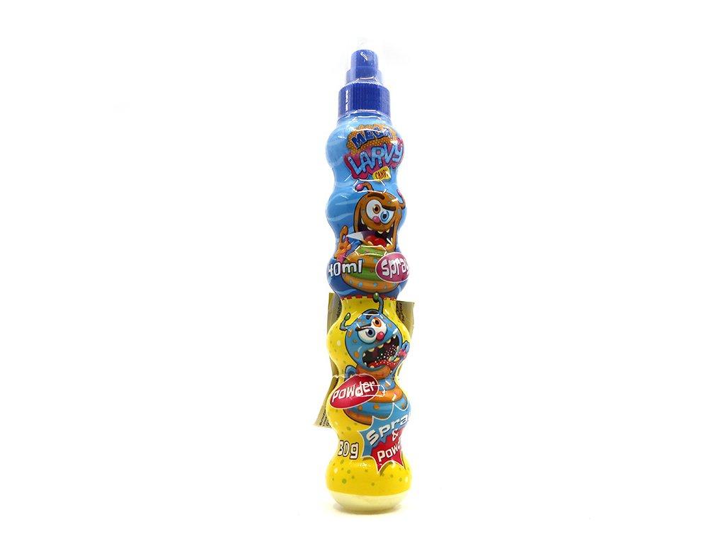 Spray Mega Larvy s Kyselým Malinovým Práškem 30g EU