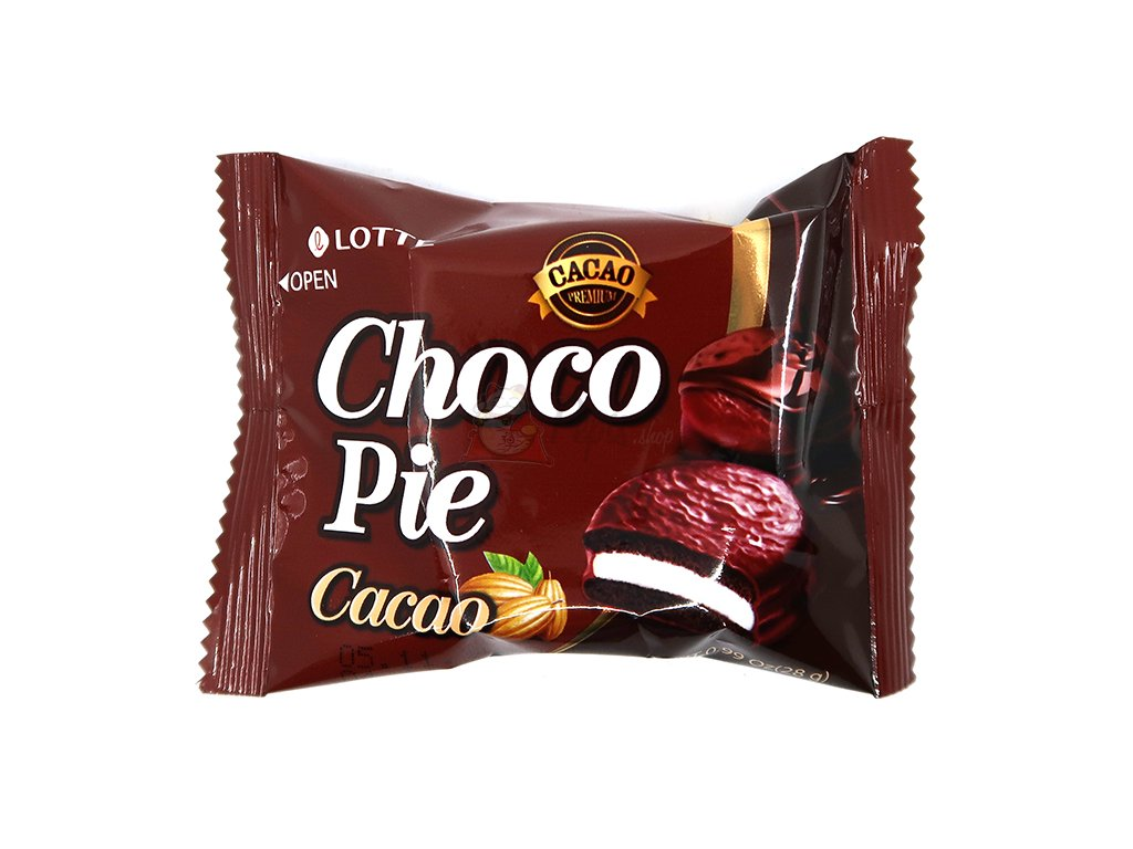 Lotte Choco Pie Marshmallow Kakaové 1ks 28g KOR