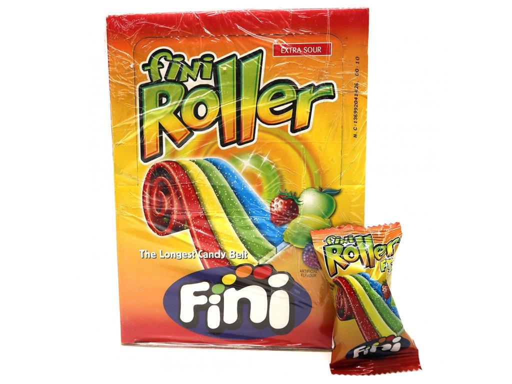 Fini Roller Extra Kyselé Pásky Ovocný Mix 1 Ks 20g ESP