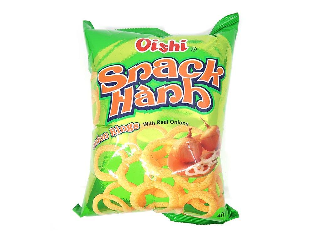 Oishi Cibulové Kroužky Snack 40g VNM