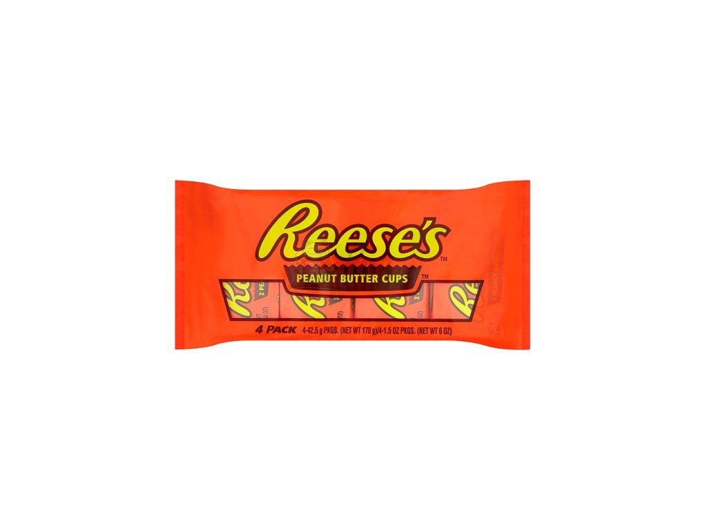 Reese's 2 Peanut Butter Cups 4 Pack 170g USA
