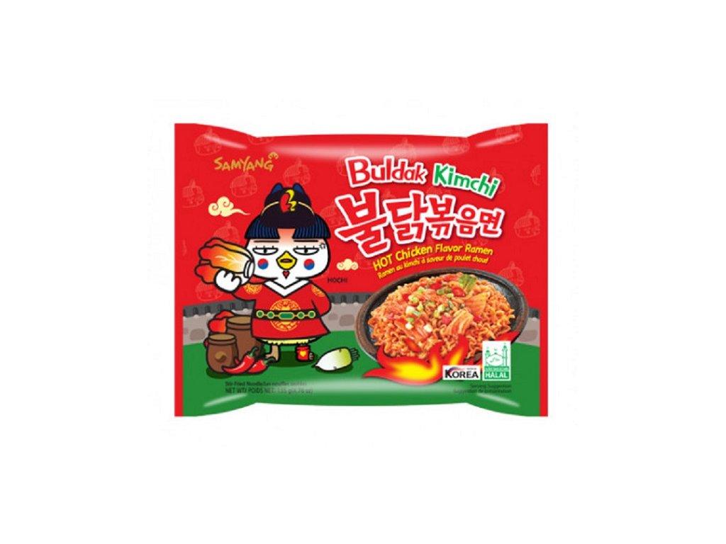 samyang ramen kimchi