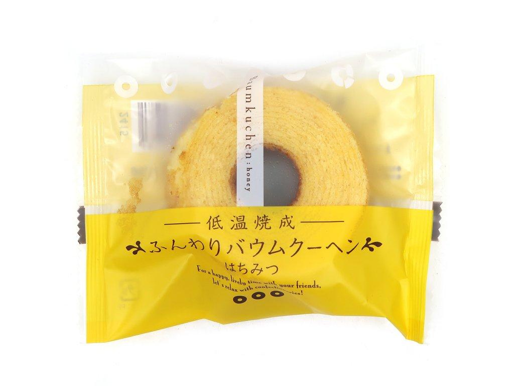 Japonský Baumkuchen Dortík Medový 75g JAP