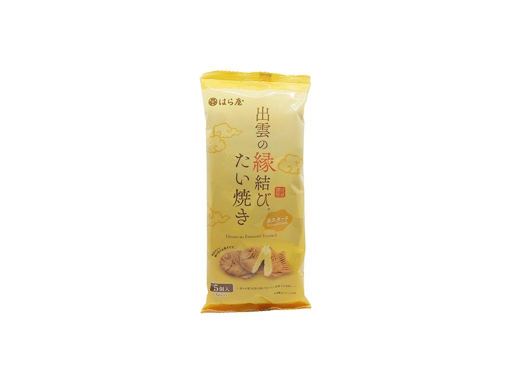Haraya Taiyaki Custard Cream Balení (5x30g) 150g JAP
