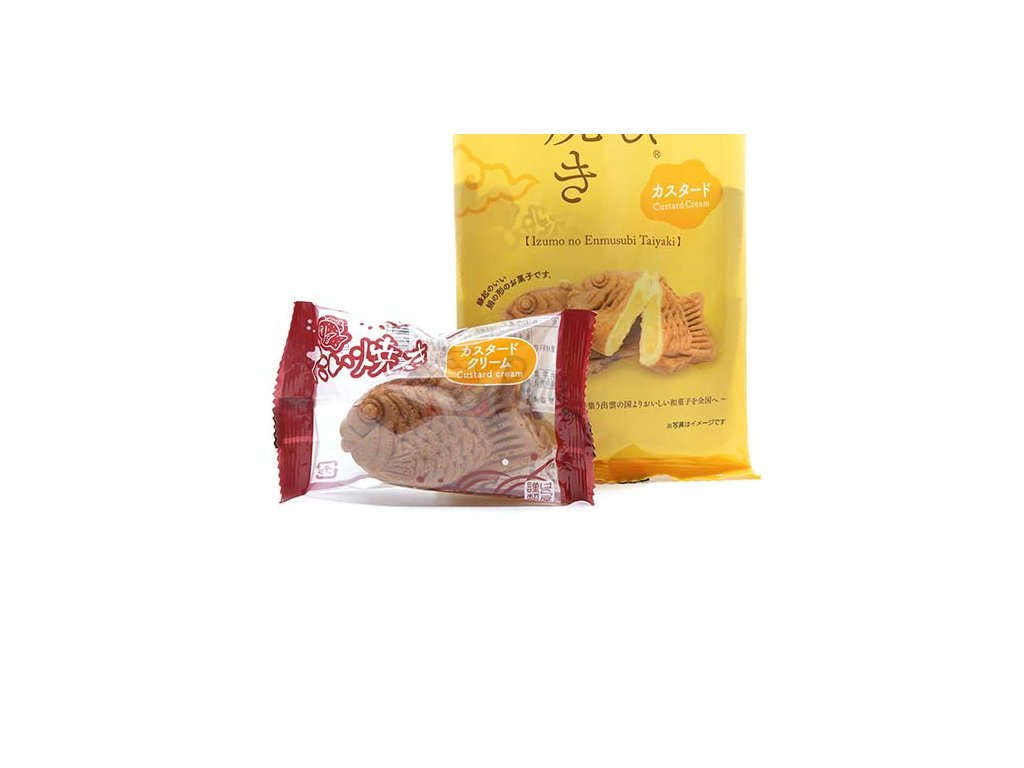 Haraya Taiyaki Custard Cream 1ks 30g JAP