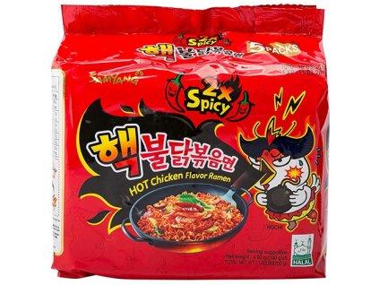 samyang 2x spicy hot chicken flavor ramen 5 pack