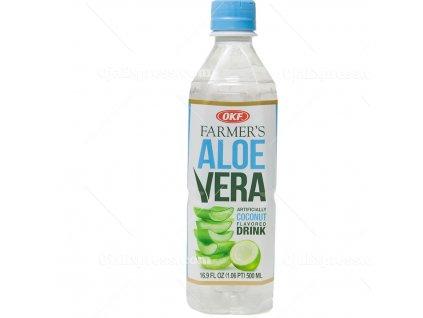 OKF Aloe Vera s Příchutí Kokosu 500ml KR