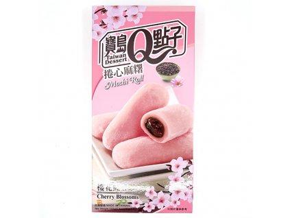 Q Brand Mochi Rýžové Rolky Cherry Blossom 150g TWN