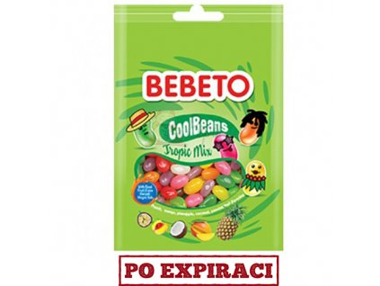 Bebeto CoolBeans Tropic Mix 60g TUR