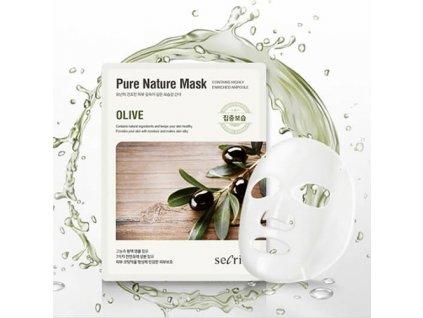 Secriss Pure Nature Mask Olive 1