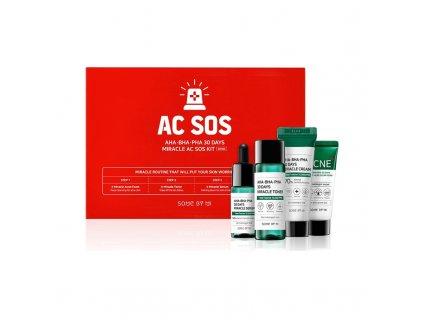 SOME BY MI AHA, BHA, PHA 30 Days Miracle AC SOS Kit 180g KOR