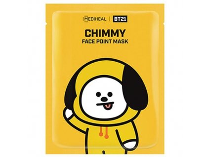 MEDIHEAL BT21 Face Point Chimmy Sheet Mask 26g KOR