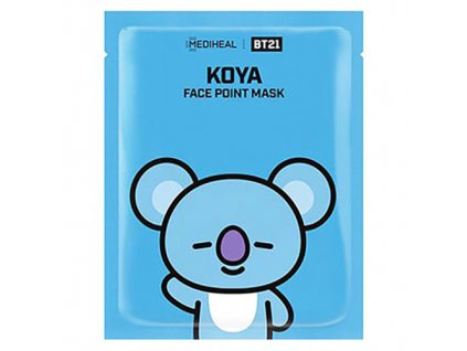 MEDIHEAL BT21 Face Point Koya Sheet Mask 26g KOR