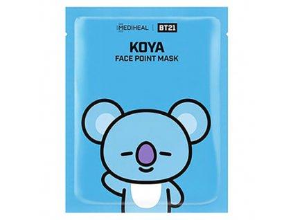 MEDIHEAL BT21 Face Point Koya Sheet Mask 26g KOR