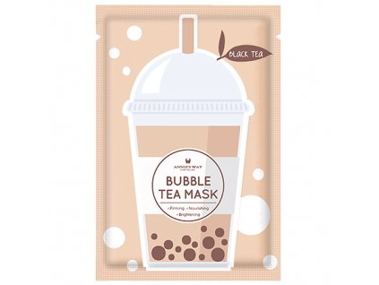 ANNIE'S WAY Bubble Tea Black Tea Sheet Mask 33g KOR