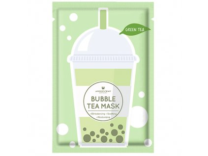 ANNIE'S WAY Bubble Tea Green Tea Sheet Mask 33g KOR