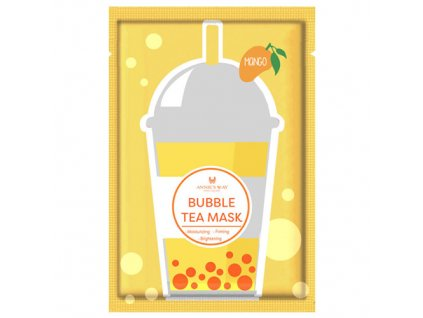 ANNIE'S WAY Bubble Tea Mango Sheet Mask 33g KOR