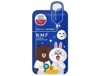 MEDIHEAL N.M.F Aquaring Ampoule Sheet Mask 38g KOR