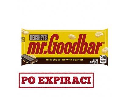 Po Expiraci Hershey's Mr. Goodbar Čokoláda s Arašídy 49g USA