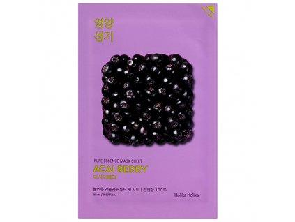 Holika Holika Pure Essence Acai Berry Sheet Mask 30g KOR