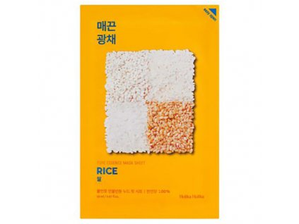 Holika Holika Pure Essence Rice Sheet Mask 30g KOR
