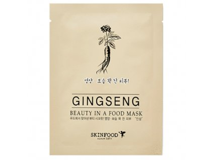 SKINFOOD Ginseng Sheet Mask