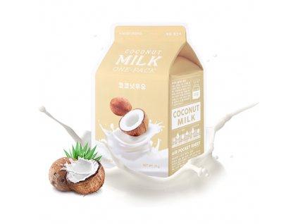 A'PIEU Milk One Pack Coconut Sheet Mask 30g KOR