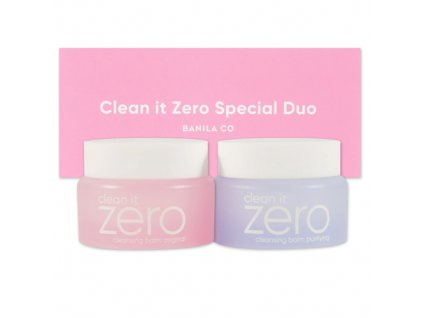 BANILA CO Clean It Zero Duo Trial Kit Balení (2x30g) KOR (1)
