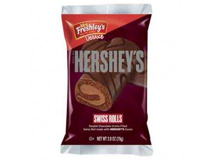 Mrs. Freshley's Hershey's Swiss Rolls 1ks 79g USA