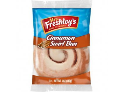 Mrs.Freshley's Cinnamon Swirl Bun 1ks 113g USA