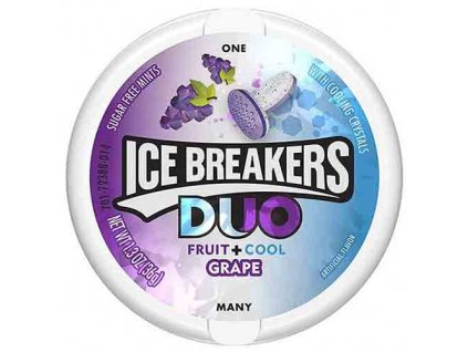 Ice Breakers Duo Mints Grape 36g USA